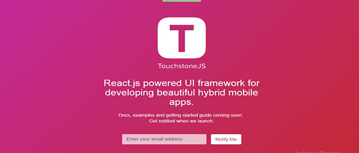Touchstone JS HTML5 and CSS3 Framework