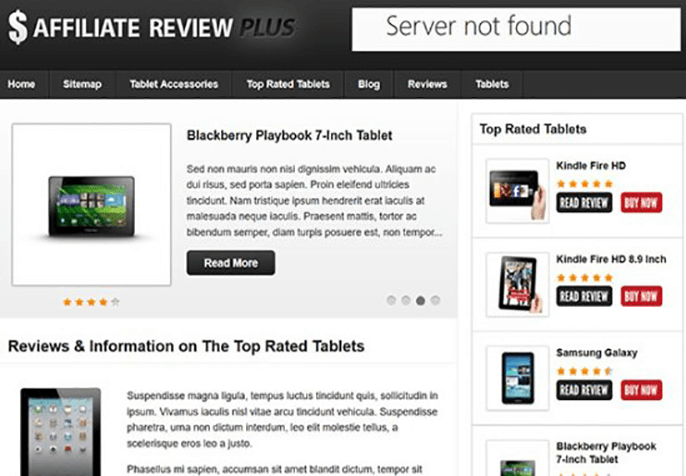 affiliatereviewplus Review WordPress