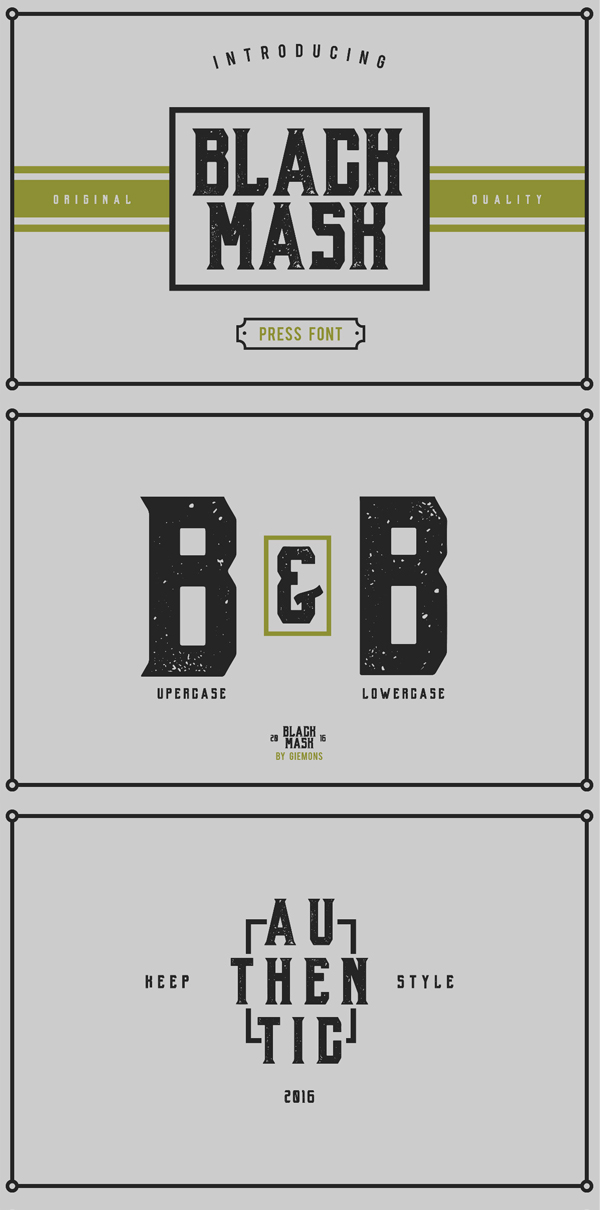 b b Best Free Font 2017 for Graphic Designers