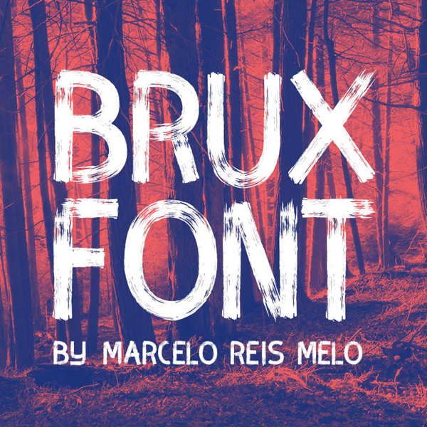 brux font for Graphic