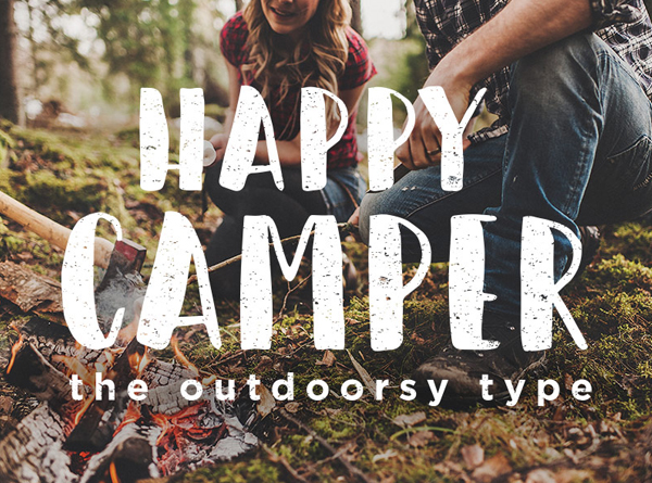 camper Best Free Font 2017 for Graphic Designers