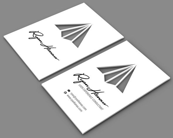 consultant Cut Business Card