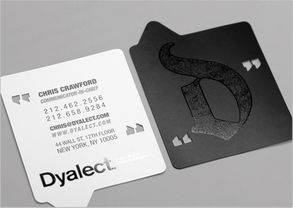 dyalect card Ideas for Inspiration