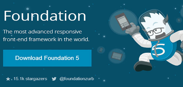 foundation HTML5 and CSS3 Framework 2017