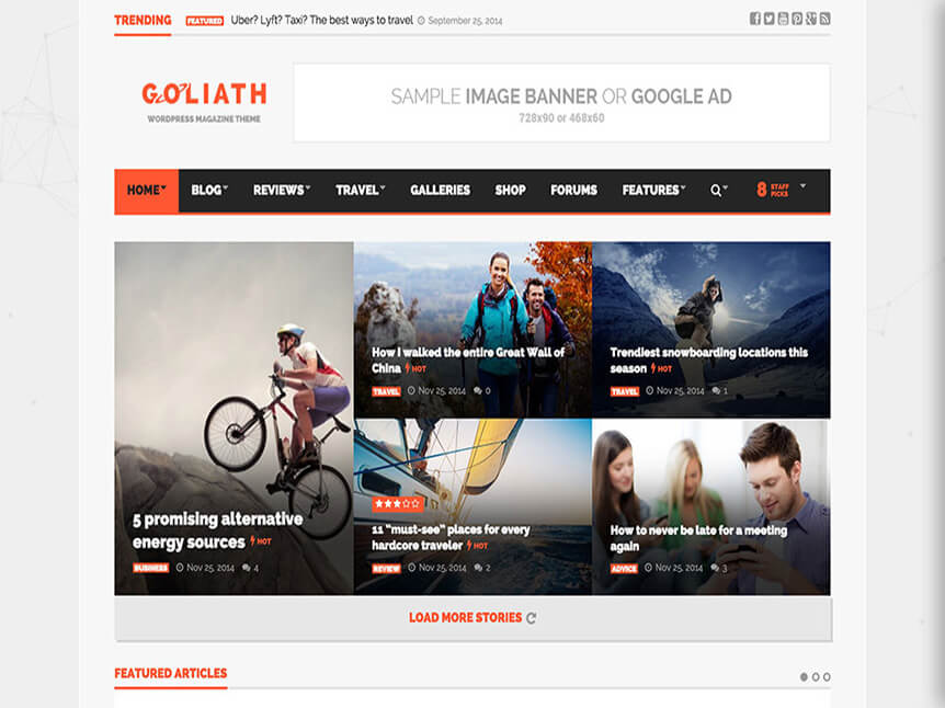goliath Best Review WordPress