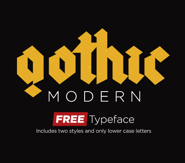 gothic Free Font 2017