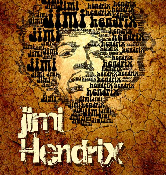 jimi Art and Typography Art