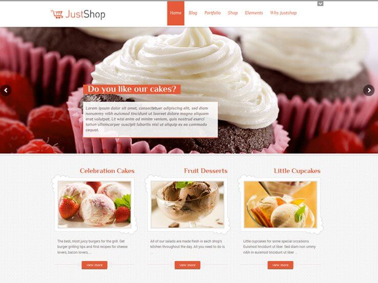justshop Cake Shop Bakeries