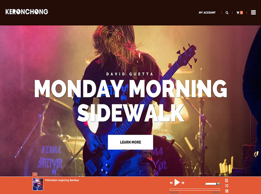 keronchong theme for Musicians & Bands