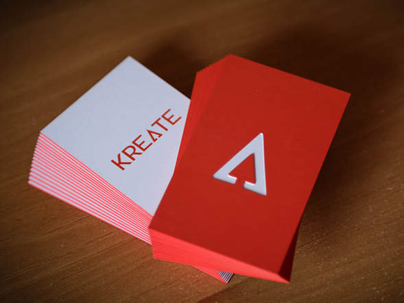 kreate Business Card Design & Idea for Inspiration