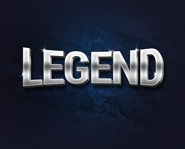 legend Free Photoshop Text Styles