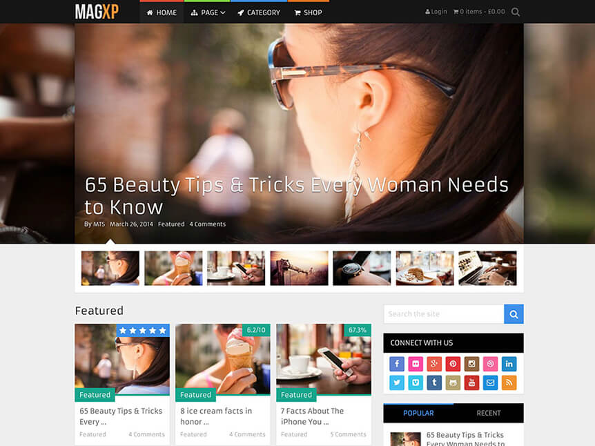 magxp Review WordPress
