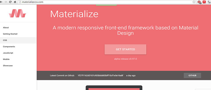 materialize Best Responsive
