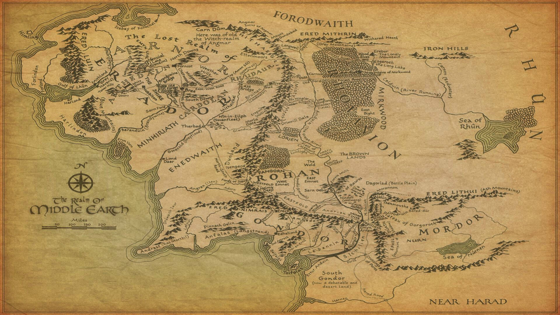 middle earth HD Background