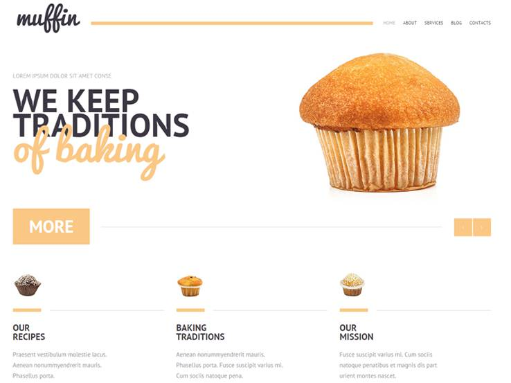 muffin Cake Shop Bakeries