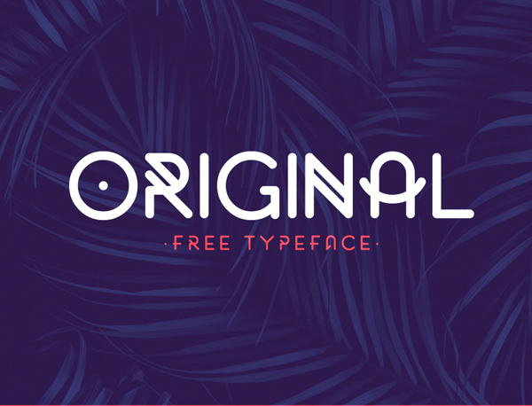 original Best Free Font 2017 for Graphic Designers