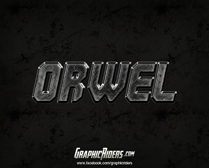 orwel Free Photoshop Text