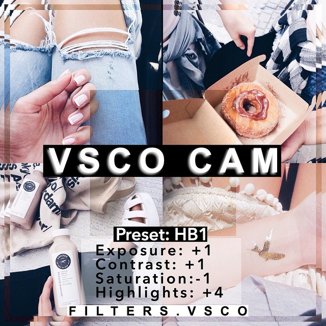 vsco cam filters for free