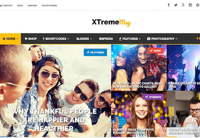 xtremeBest Review WordPress Theme