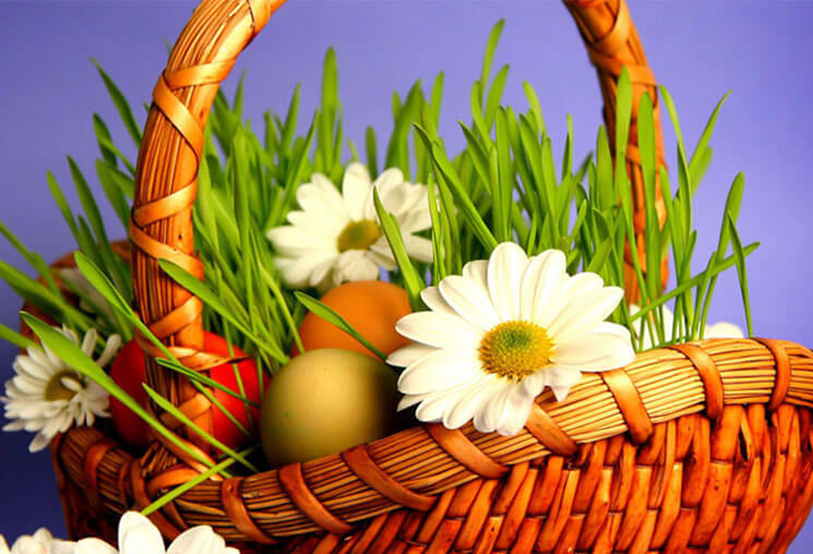 Basket Beautiful & Cute Easter