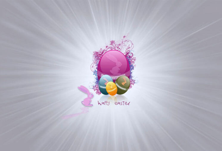 Blast Most Beautiful & Cute Easter Wallpaper