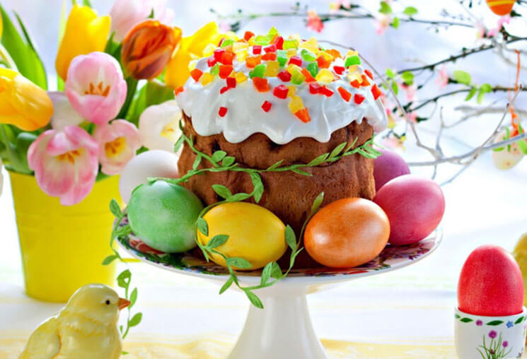 Cake Beautiful & Cute Easter Wallpaper