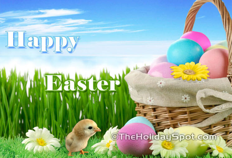 Chick Beautiful & Cute Easter