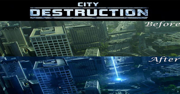City Destruction After Effects