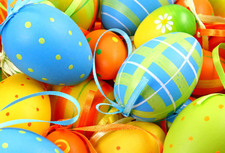 Colorful Beautiful & Cute Easter Wallpaper