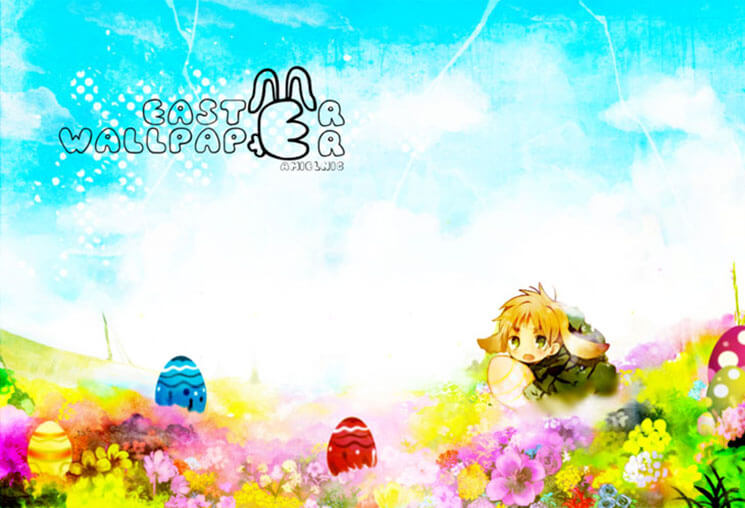 Contest Beautiful & Cute Easter Wallpaper