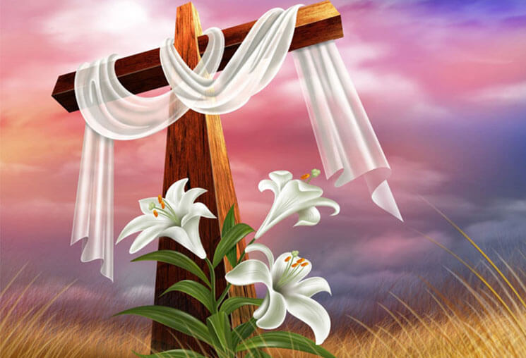 Cross Most Beautiful & Cute Easter