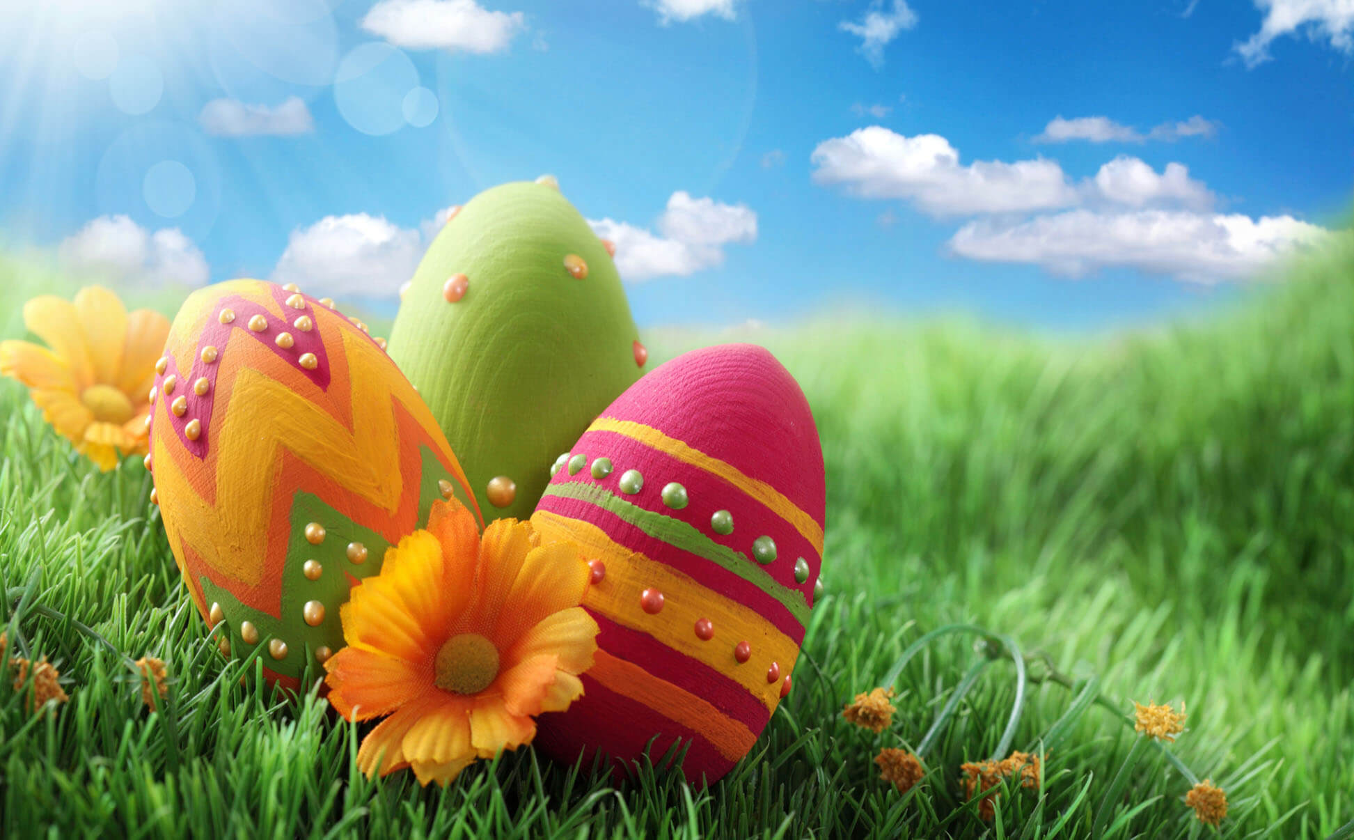 Land Easter Wallpaper