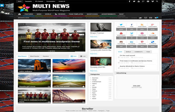 Multinews Best WordPress