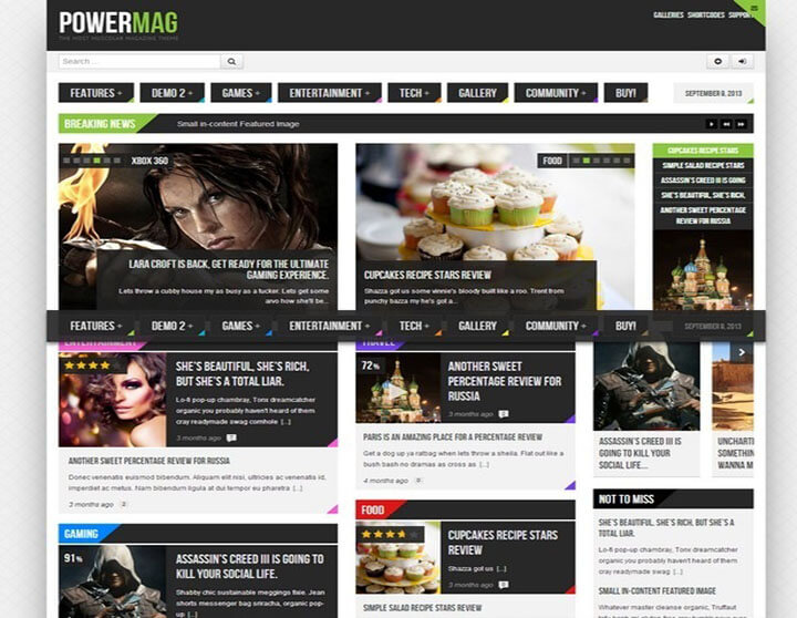 PowerMag Best WordPress