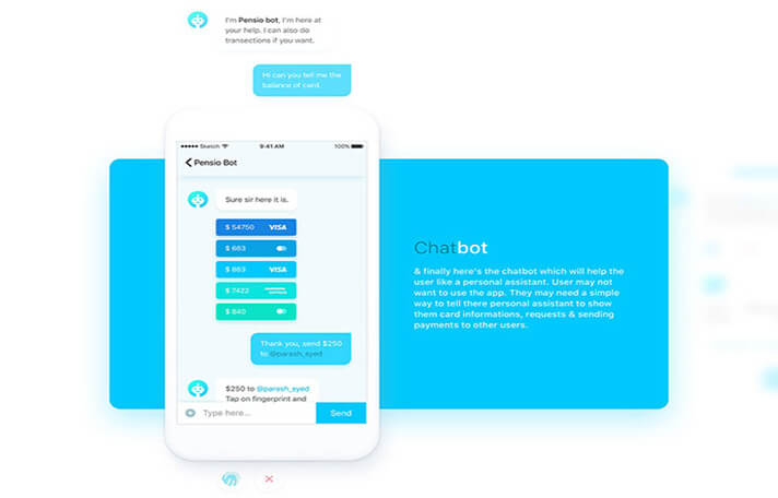 Rooboot Chat UI Designs
