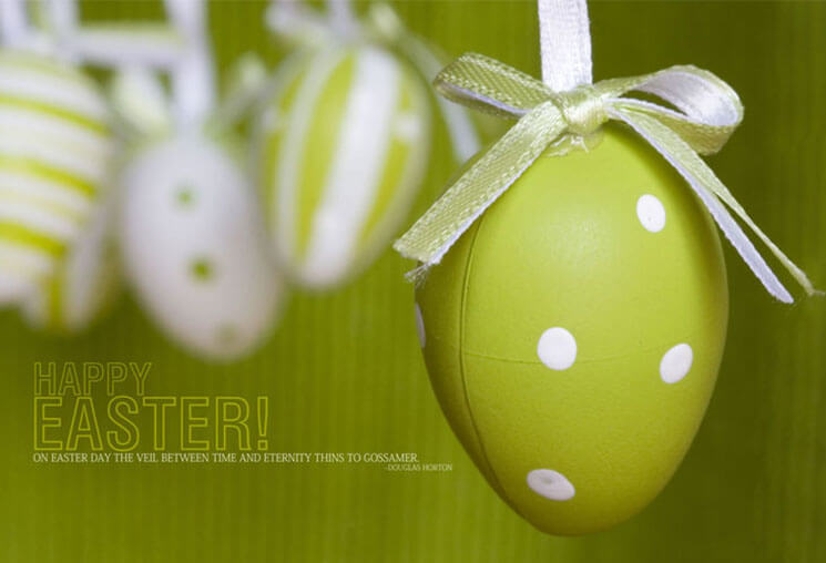 Simple Most Beautiful & Cute Easter Wallpaper