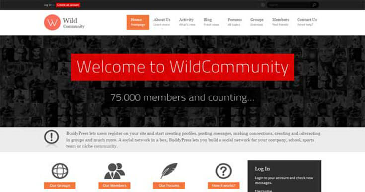WildCommunity Forum and Community