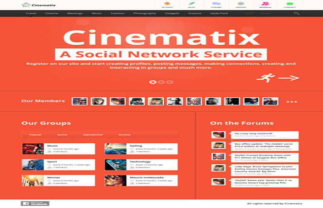 cinematix Best WordPress