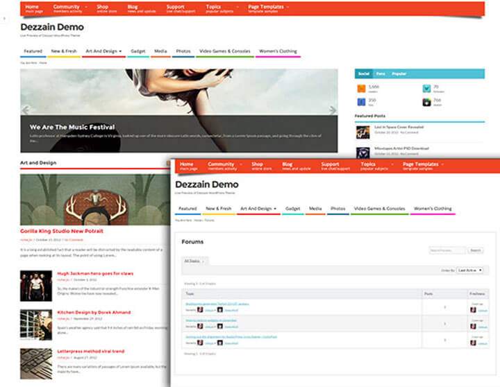 meso WordPress bbPress