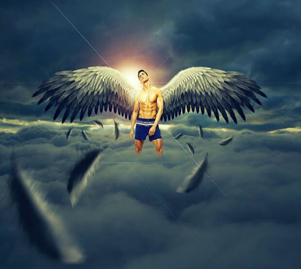 Angle Photo Manipulation Example