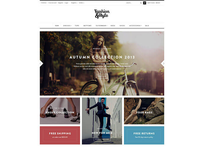 Autman Store WordPress Theme