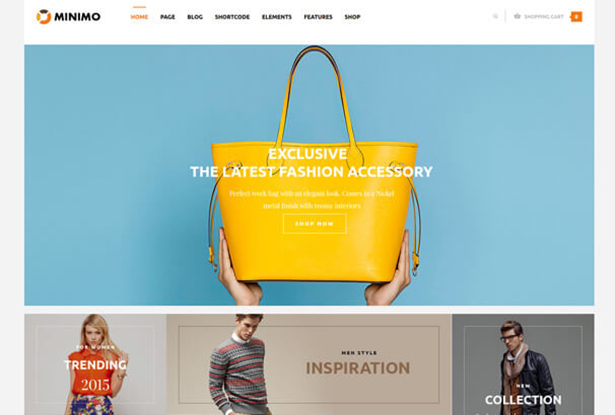 Bag Store WordPress Theme