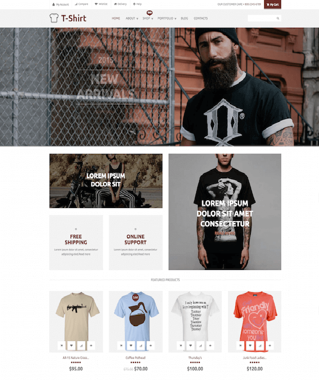 Beared Store WordPress