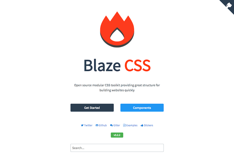 Blaze CSS Libraries