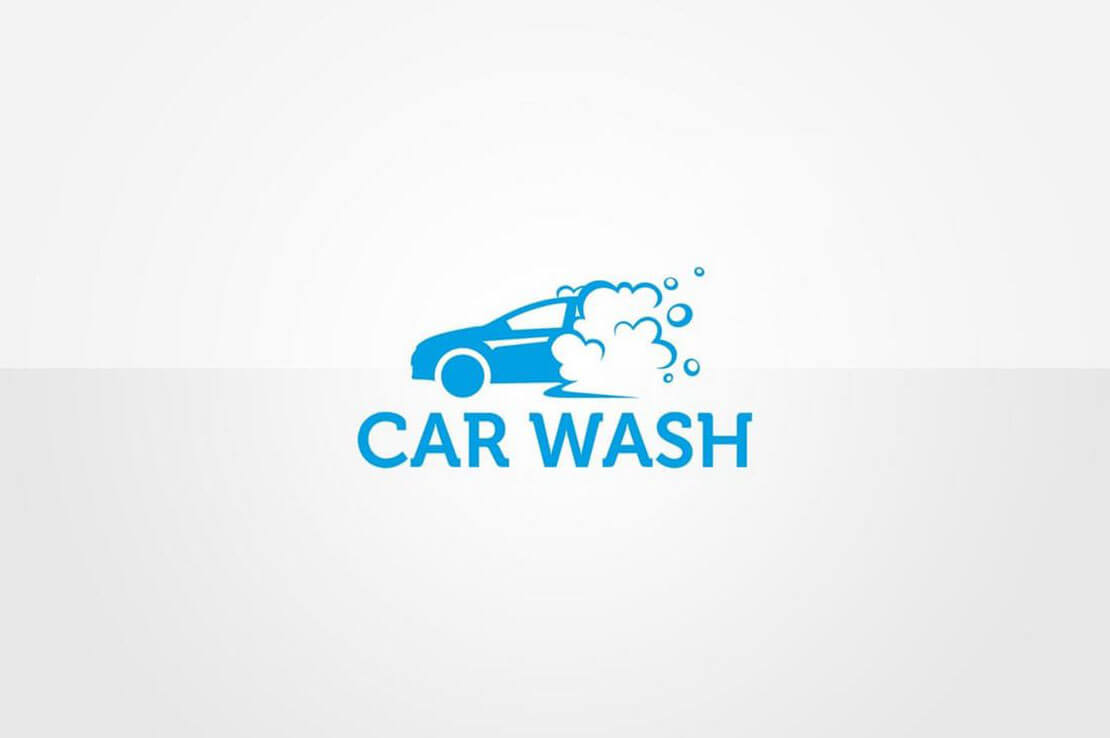 Car Wash Minimal Logo