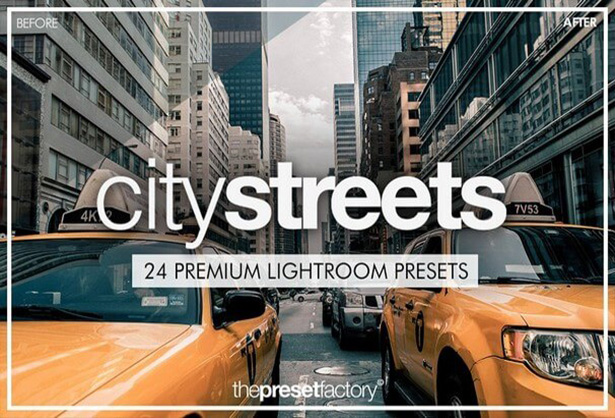 City Streets Preset for