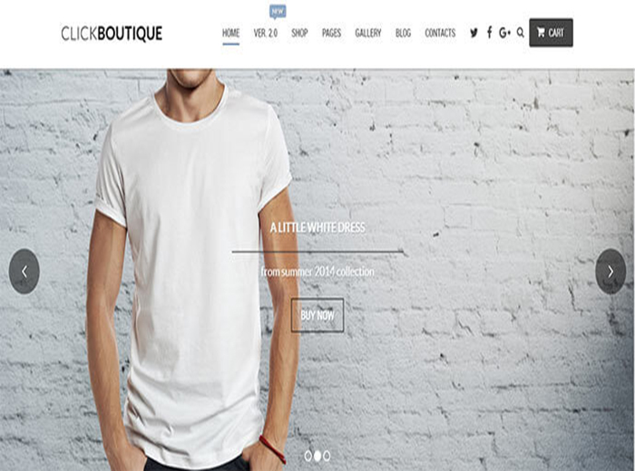 Click Botique Store WordPress Theme
