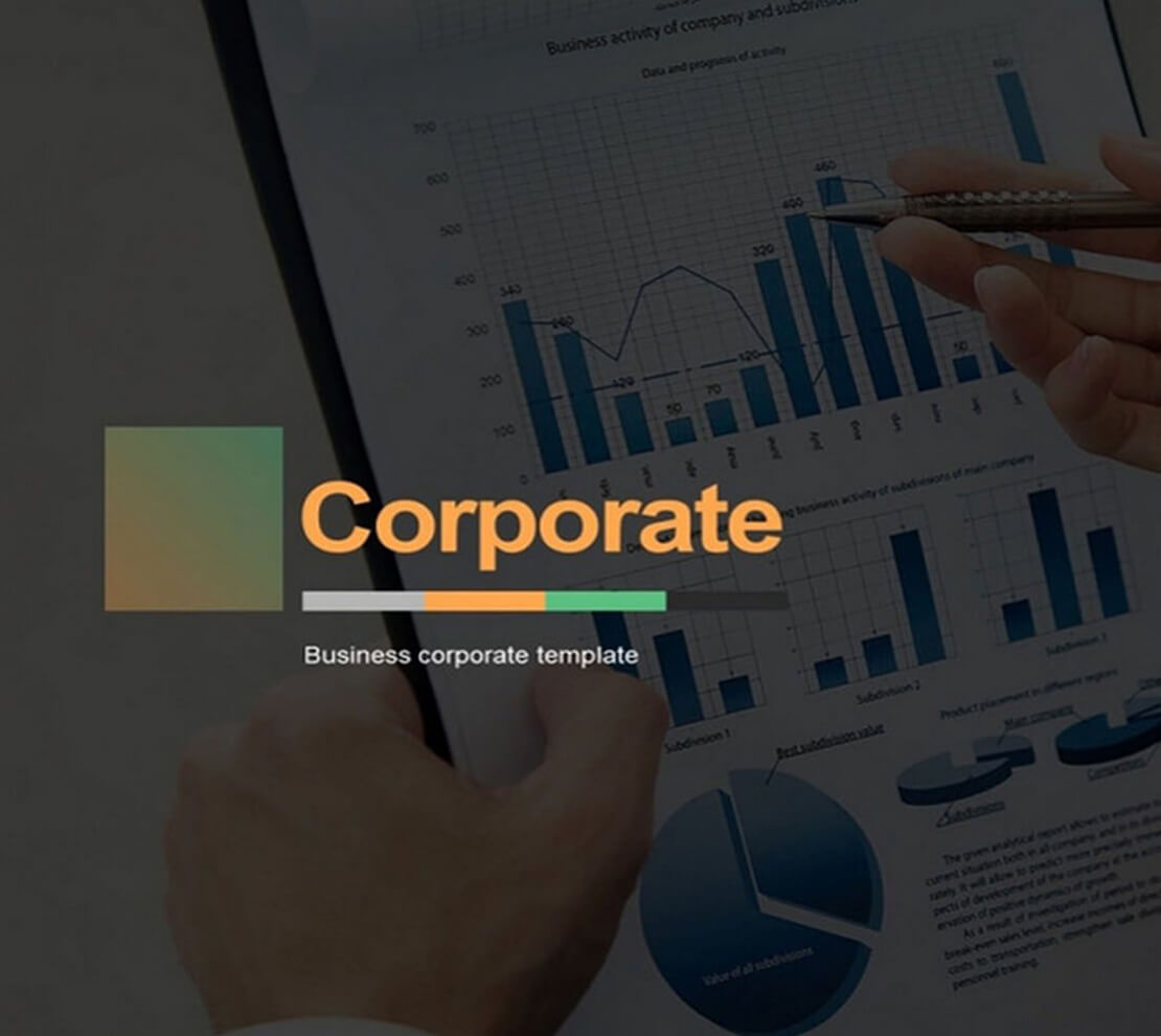 Corporate Template for Presentation