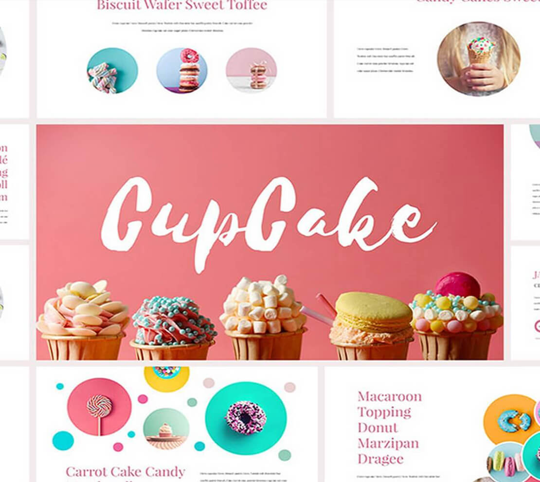 CupCake Template for Presentation
