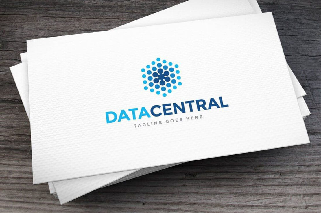 Data Central Logo Design